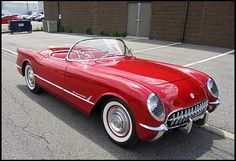 1954 Chevrolet Corvette Roadster 1 of 100 Produced in Sportsman Red presented as lot S102 at Harrisburg, PA 2014 - image8