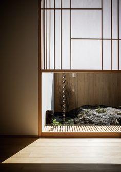 Fragments of architecture — House in Higashi-hirano / seki. Japan Interior, Japanese Interior Design, Japanese Design, Minimalist Architecture, Interior Architecture, Interior And Exterior, Sustainable Architecture, Residential Architecture, Modern Japanese Architecture