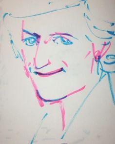 いいね!10件、コメント1件 ― @1mindrawのInstagramアカウント: 「#1mindraw #diana #princessofwales #ダイアナ妃 #19610701 #birthday #誕生日 #portrait #筆ペン画」