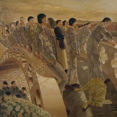 Sir Stanley Spencer 'The Bridge', 1920 © Estate of Stanley Spencer