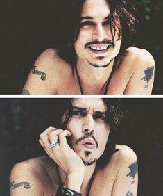 One of my favs, Mister Johnny Depp. Love him as Cap'n Jack Sparrow ;)