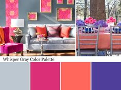 Whisper Gray Color Palette - Colors We Love: Whisper Gray on HGTV