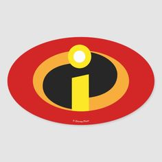 Shop The Incredibles Logo Oval Sticker created by theincredibles. Personalize it with photos & text or purchase as is! Disney Pixar Coco, Disney Logo, Disney Pixar Movies, Disney Art, Disney Crafts, Disney Magic, Minimalista Disney, Disney Incredibles, Incredibles Costume