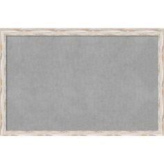 Beachcrest Home Framed Magnetic Memo Board  Size: