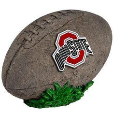 Ohio State Buckeyes 3D Football Stone