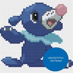 Pokemon Popplio cross stitch pattern by charlyminion