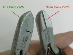 Flush Cutters - Essential jewelry making pliers