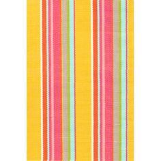Dash and Albert Rugs Happy Stripe Indoor/Outdoor Area Rug | AllModern