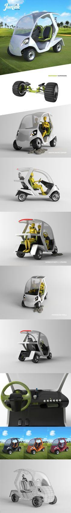 Golf Car Concept on Behance