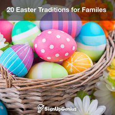 20 Easter Traditions for Families. From Easter pictures and spring baking to Easter parades and egg decorating, make the holiday memorable for children.