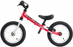"""TooToo 12"""" Balance Bike in Stop Sign Red (Age 2-4)"""