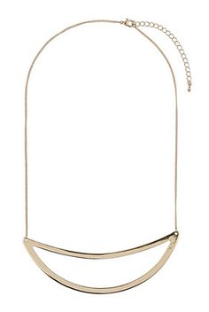 Simple Curve Necklace
