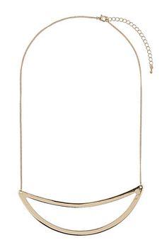 Simple Curve Necklace