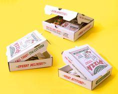 Pizza Box Promo Mailer
