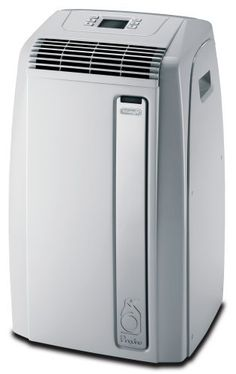 DeLonghi PAC A120E 12,000-BTU Portable Air Conditioner by DeLonghi. $385.99. Easily portable due to its durable castor wheels and side-carry handles. Cool only where you need it and when you need it.. Quiet operation thanks to the high efficiency compressor and components.. Never empty a bucket with the unique no drip technology. The unit automatically recycles the condensation within the machine.. Saves money with R410A refrigerant gas. It operates more efficiently and do...