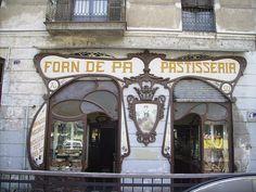 BARCELONA, Spain - Forn de Pa Serret, c.Girona, 73
