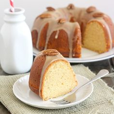 Salted Caramel Bundt Cake by @Tracey Wilhelmsen (Tracey's Culinary Adventures)