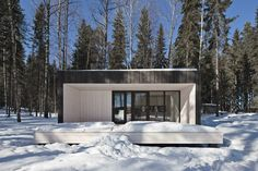 Image 29 of 40 from gallery of Four-cornered Villa / Avanto Architects. Photograph by Kuvio - Anders Portman and Martin Sommerschield