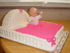 Baby Shower Cakes for Girls | Girl Baby Shower Cake Photo by smapes | Photobucket