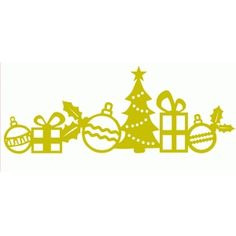 Silhouette Design Store - View Design #51985: christmas border