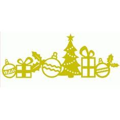 Silhouette Design Store - View Design #51985: christmas border