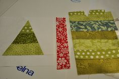 Piecing together the top by Pleasant Home, via Flickr