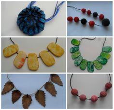 Fimo náhrdelníky. Ke koupi zde http://www.fler.cz/zbozi?ucat=286359