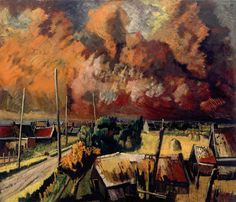 Henk Chabot - Brand van Rotterdam 1940. Henk Chabot geboren in Brabant en kwam later naar Rotterdam. Tijdens de tweede wereldoorlog weigerde hij zich  aan te sluiten bij de kunstkamer van de Nazi's. Dit had tot gevolg dat hij bijna geen verf had of in ieder geval weinig kleuren. Zijn schilderijen uit de oorlogstijd zijn dan ook zeer somber.  Vlak na de bevrijding krijgt hij verf van een Joodse vrouw en schildert hij zijn schilderij 'Vrede'. Een vergezicht op de Rotte in de zomer. Het eerste…