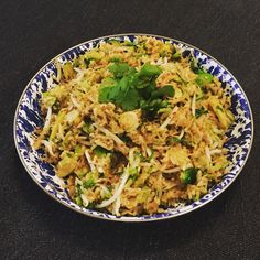 Sprout and pineapple rice from simply nigella
