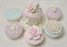 Couture cupcakes by Nivia