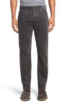 VINCE '718' Slim Fit Stretch Corduroy Pants. #vince #cloth #