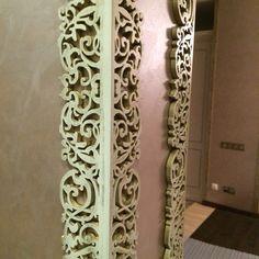 Laser cut corner design