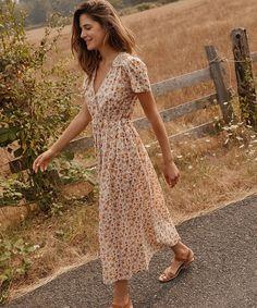 945cc389d20 The Dawn Dress   Fall Calico (Cotton) – Christy Dawn Summer Church Outfits,