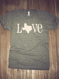 My next purchase!!! Classic State Love Tee- Texas | Charlie Southern