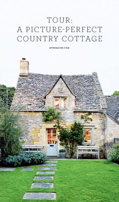 This cottage is a gorgeous and charming estate