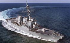 R.D.F. Arleigh Burke Class Destroyers