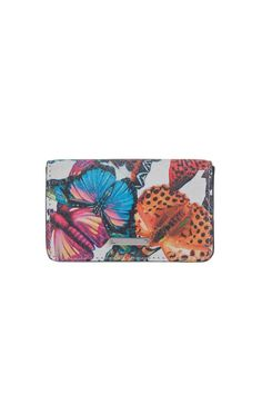 This tiny butterfly card holding case is the perfect accessory to store your credit cards and ID's. Its small lightweight and has a beautiful multi colored butterfly pattern.  Dimensions: Width: 4 inches Height: 2 1/2 inches Depth: 1/2 inch  Butterfly Mini Card-Case by Lodis. Bags - Wallets & Wristlets New York