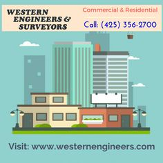 Highly recommended land surveying company  Western Engineers and Surveyors, Inc are a full service land use consultant, field-to-finish land surveying and civil engineering firm based in Everett. For more info call: (425) 356-2700