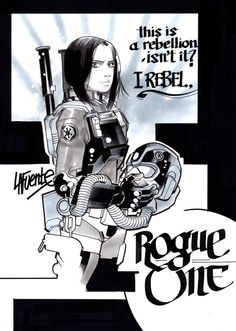 Jyn Erso - Rogue One by David Lafuente