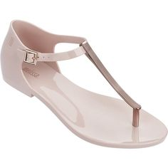 Melissa Women's Honey Chrome Sandal In Pink Coral Sandals, Pretty Sandals, Pretty Shoes, Shoes Sandals, Summer Sandals, Summer Shoes, Rose Gold Shoes, Kawaii Shoes, Melissa Shoes