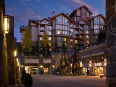 Ski-in, ski-out Whistler Westin: Whistler, British Columbia, Canada