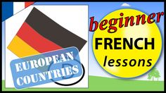 European countries in French | Beginner French Lessons for Children