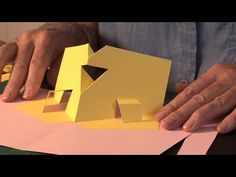 Pop-Up Tutorial 22 - Adding Extra Creases Part 2 - Counter-folds - YouTube