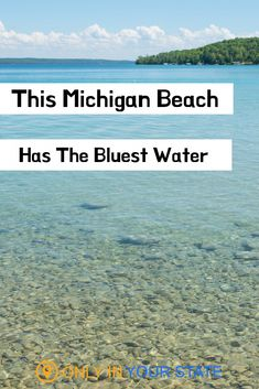 Michigan's Torch Lake Beach has the clearest crystal blue water. It's perfect for vacations, summer fun, swimming, and boating. The scenic beach will have you feeling like you're in the Carribean. Torch Lake Michigan, Lake Michigan Vacation, Beach Vacation Tips, Lake Michigan Beaches, Michigan Vacations, Michigan Travel, Vacation Destinations, Vacation Spots, Family Vacations