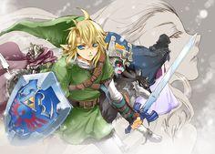 usa.pupu.jp latest art on The Legend of Zelda: Twilight Princess - 雪原 - 2013/01 -