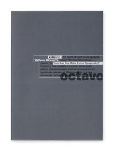 8vo / Octavo 87.4 / International Journal of Typography / Issue 4 / Magazine / 1987