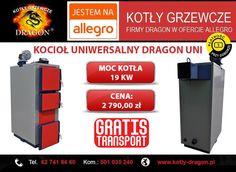 🔴 KOCIOŁ uniwersalny DRAGON UNI 19KW  🔴 Wejdź w bezpośredni link do naszej aukcji: ➞ allegro.pl/piece-piec-kociol-kotly-uniwersalny-pid-19kw-i6285068826.html  ⚫KONTAKT:  📞tel./fax: 62 741 84 60 📲kom. 501 035 240  ✉e-mail: biuro@kotly-dragon.pl ✉e-mail: handlowy@kotly-dragon.pl  ➞Zapraszamy również na nasze aukcje allegro: http://allegro.pl/listing/user/listing.php?us_id=34032782 ➞Oraz stronę internetową: http://www.kotly-dragon.pl/  #kocioł #kotły #piece #dom #centralne #ogrzewanie #opał
