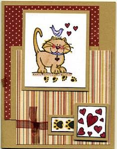Best Pet Friend Card, Stamps, & DIY Directions from GreatImpressionsStamps.com