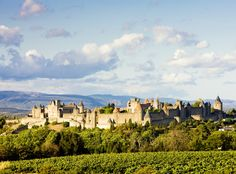 This is Carcassonne, the oldest medieval city in Europe! #carcassonne