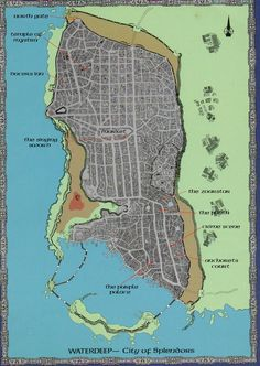 Forgotten realms cities